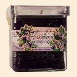 Wild Huckleberry Candle - Square Jar 6 oz.