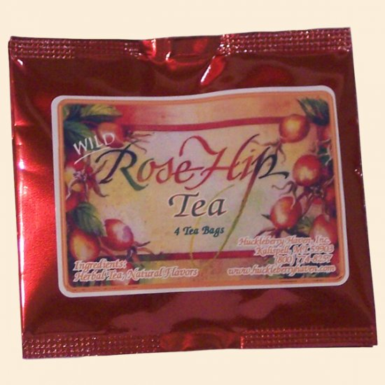 Wild Rosehip Tea Pouch 4 bags - Click Image to Close