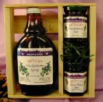 Gift Crate: Wild Huckleberry Syrup & Jams