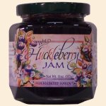 Wild Huckleberry Jam 11 oz.