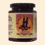 Wild Huckleberry Hot Pepper Jelly 8 oz.