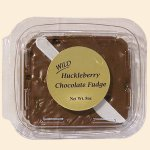 Wild Huckleberry Chocolate Fudge 8 oz.