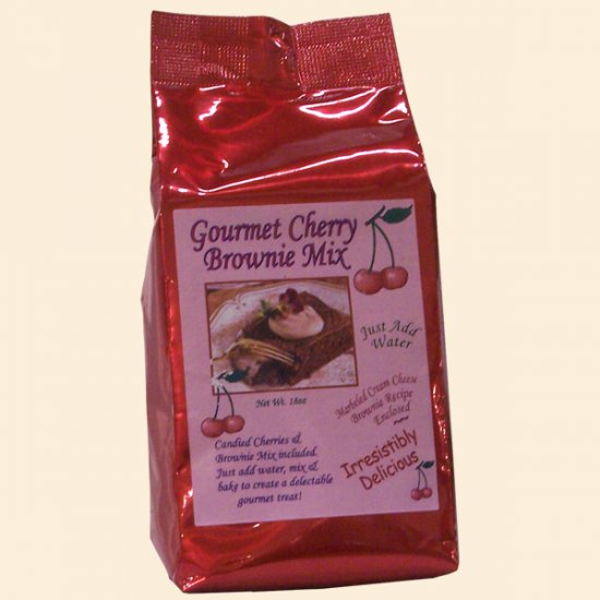 Cherry Brownie Mix 18 oz. - Click Image to Close