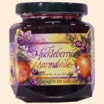 Wild Huckleberry Marmalade 11 oz.