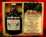 Gift Crate: Huckleberry Flap Jack Mix & Huckleberry Syrup