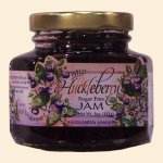Sugar Free Wild Huckleberry Jam 5 oz.