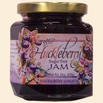 Sugar Free Wild Huckleberry Jam 11 oz.