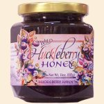 Wild Huckleberry Honey 11 oz.