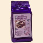 Wild Huckleberry Brownie Mix 18 oz.