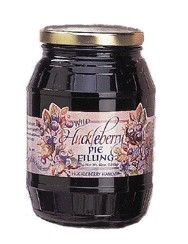 Wild Huckleberry Pie Filling 42 oz. - Click Image to Close